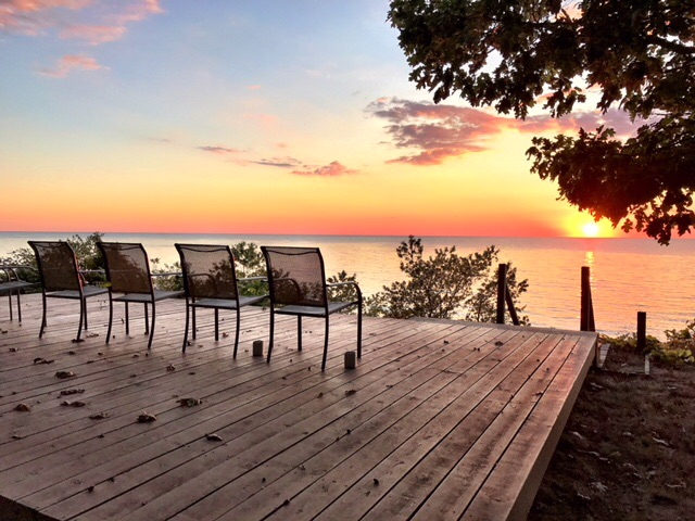 Enjoy beautiful sunsets from Chapmans Chapter