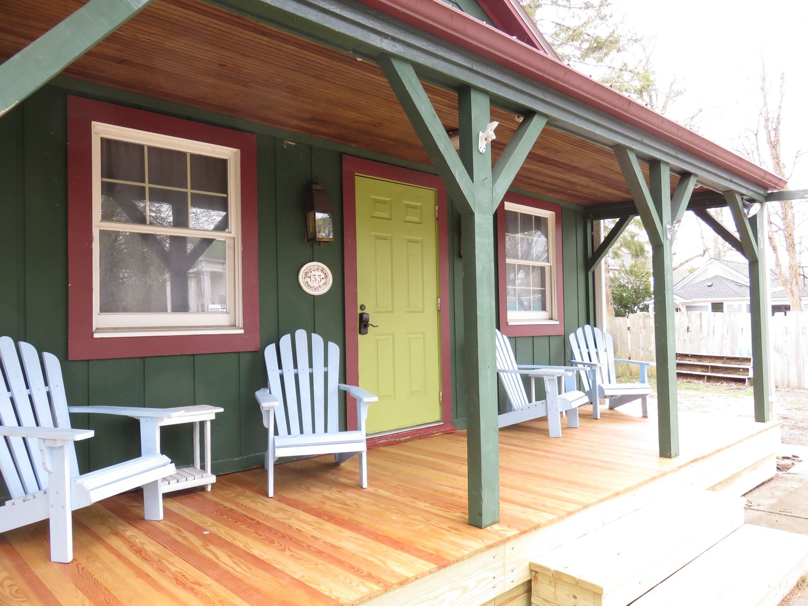 Welcome to Lake Effect New porch for 2017