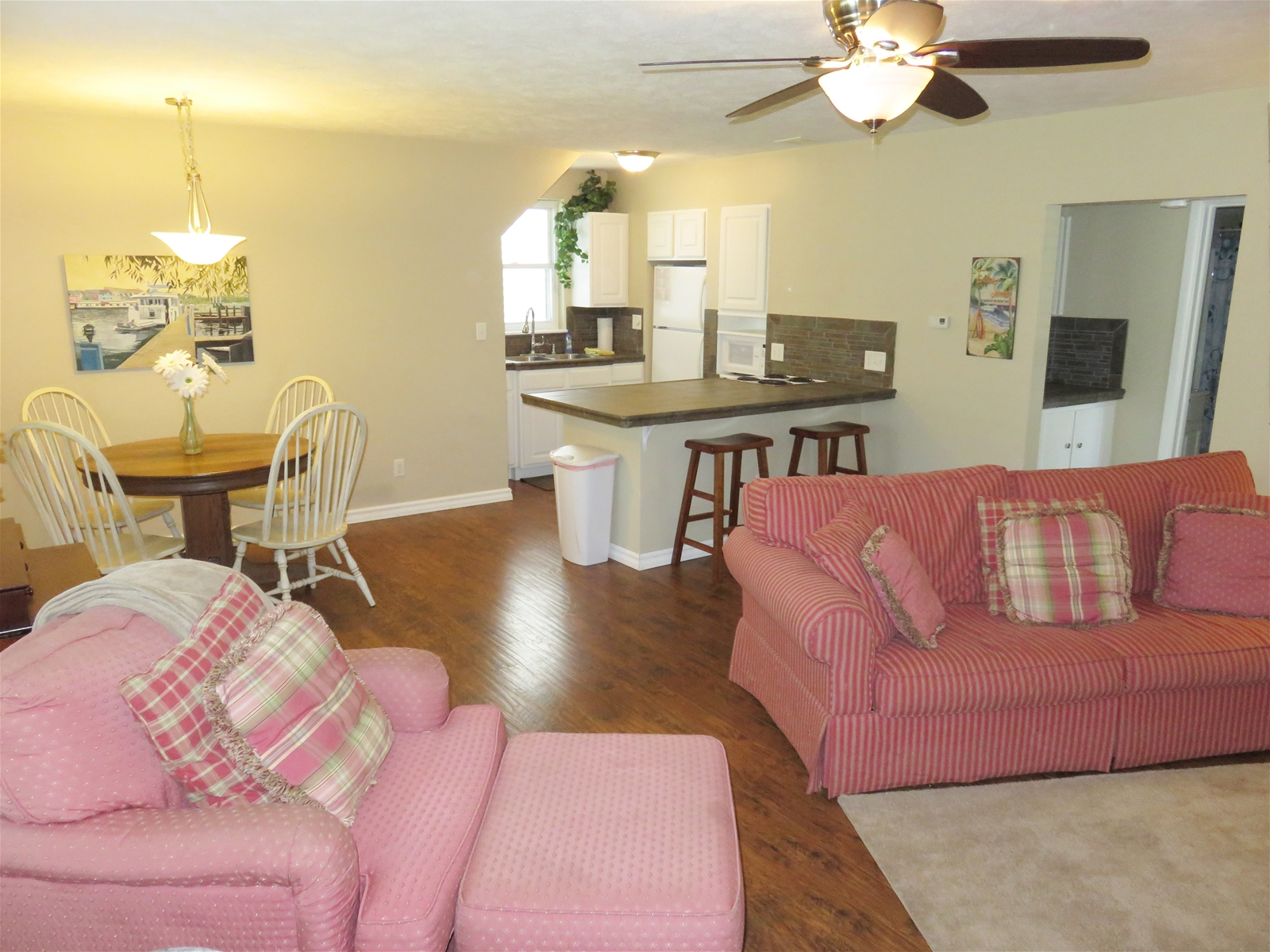 Comfortable living space at Park Side